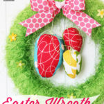 Easter Egg Hunt Wreath