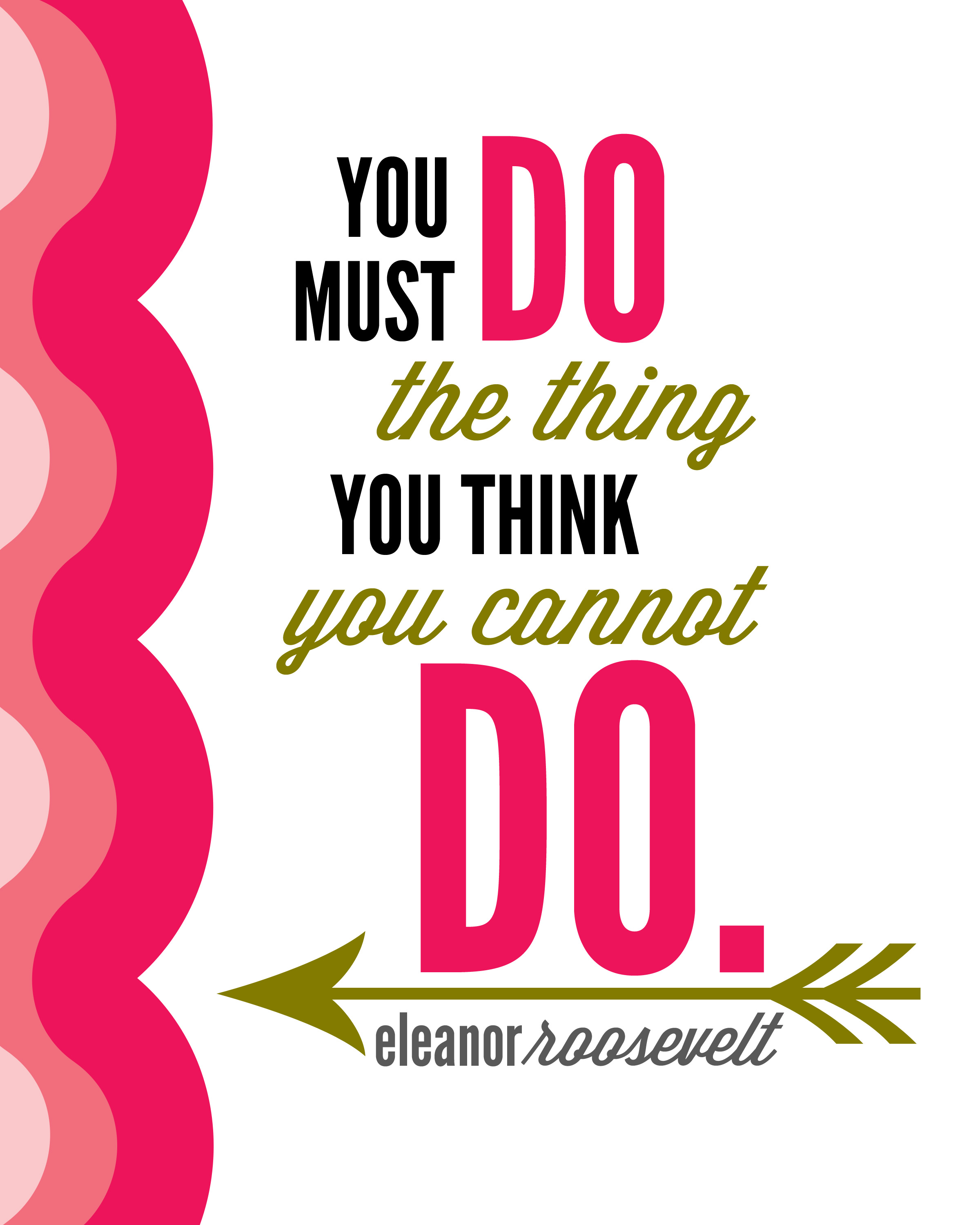Quotes Eleanor Roosevelt Eleanor Roosevelt Quote  Positively Splendid Crafts Sewing