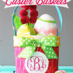 Fabric Easter Basket Pattern
