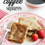 Glazed Coffee Squares :: PositivelySplendid.com