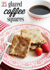 Glazed Coffee Squares
