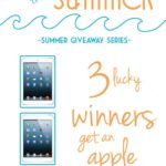 Summer Giveaway Series – Part 2!!
