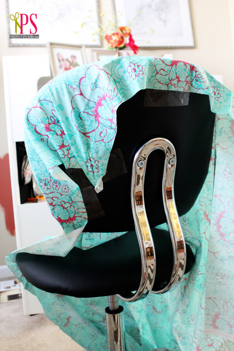 office chair slipcover tutorial and slipcover tips
