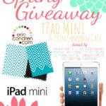 WIN an iPad Mini and Erin Condren Case!