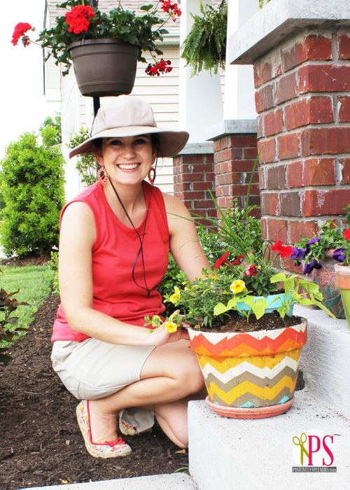 Container Gardening Tips from Positively Splendid