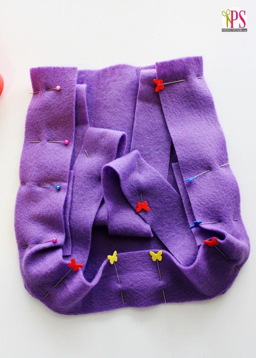 DIY Dora the Explorer Backpack Pattern :: PositivelySplendid.com