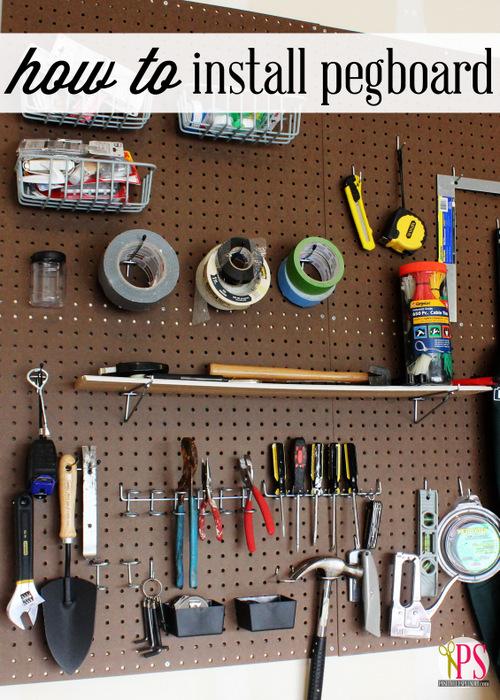 garage pegboard title
