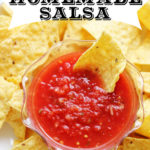 World's Best Homemade Salsa :: PositivelySplendid.com