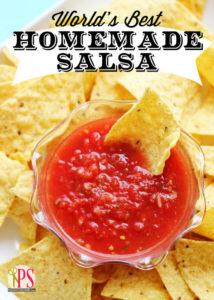 World's Best Homemade Salsa