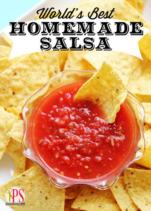 World's Best Homemade Salsa :: PositivelySplendid.com