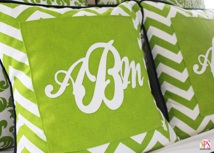 monogram pillow cover 2