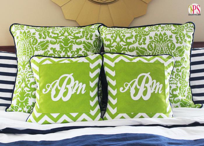 monogram pillow cover 3