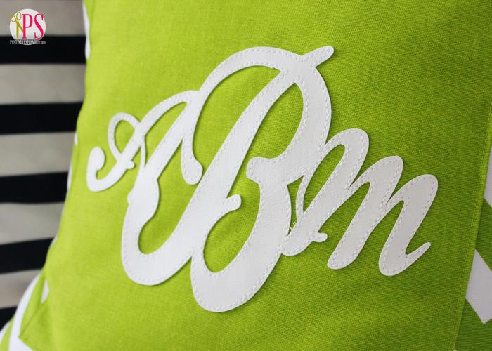 monogram pillow cover 4