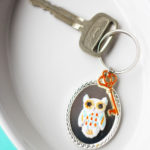Owl Key Chain :: Positively Splendid.com