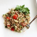 Summer Tabbouleh Salad :: PositivelySplendid.com