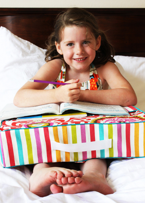 This study pillow at Positively Splendid would make a perfect holiday gift for kids!