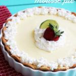 Lemon-Lime Mousse Icebox Pie