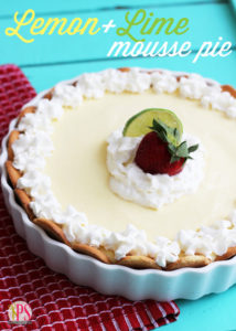 Lemon-Lime Mousse Pie