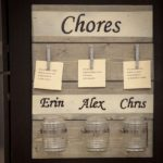 DIH Workshop Chore Chart at the Home Depot