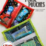 See-Through Zipper Pouch Sewing Tutorial