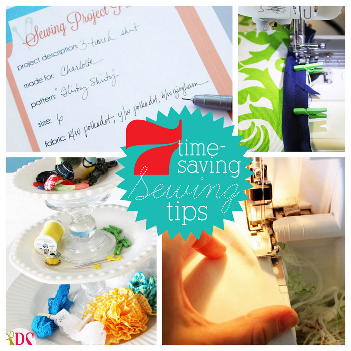 7 Time-Saving Sewing Tips :: PositivelySplendid.com