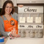 Create with Me at the Home Depot Chore Chart DIH Workshop!