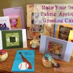 Handmade Fabric Appliqué Greeting Cards