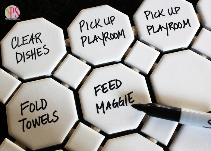 magnetic tile chore chart 8