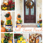 Fall Front Porch Decor (Outdoor Fall Decorating Ideas)