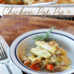 Chicken Pot Pie with Rosemary-Cream Cheese Pastry