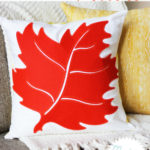 Quick-and-Easy Fall Leaf Pillow