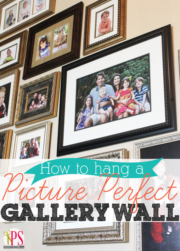 Gallery Wall Tips at Positively Splendid