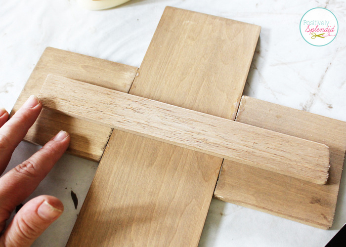 DIY Ornate Wooden Crosses at Positively Splendid
