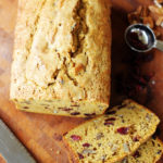 This cranberry-pumpkin bread at Positively Splendid sounds delicious, and it is pretty enough to wrap up and give as holiday gifts!