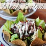 Easy Southwestern Steak Salad