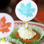 Vanilla-Spice Whipped Cream Recipe + Free Thanksgiving Dessert Topper Printables