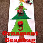 Ornament Bean Bag Toss Game #SwellNoel