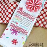 Printable Gift Sleeve #SwellNoel