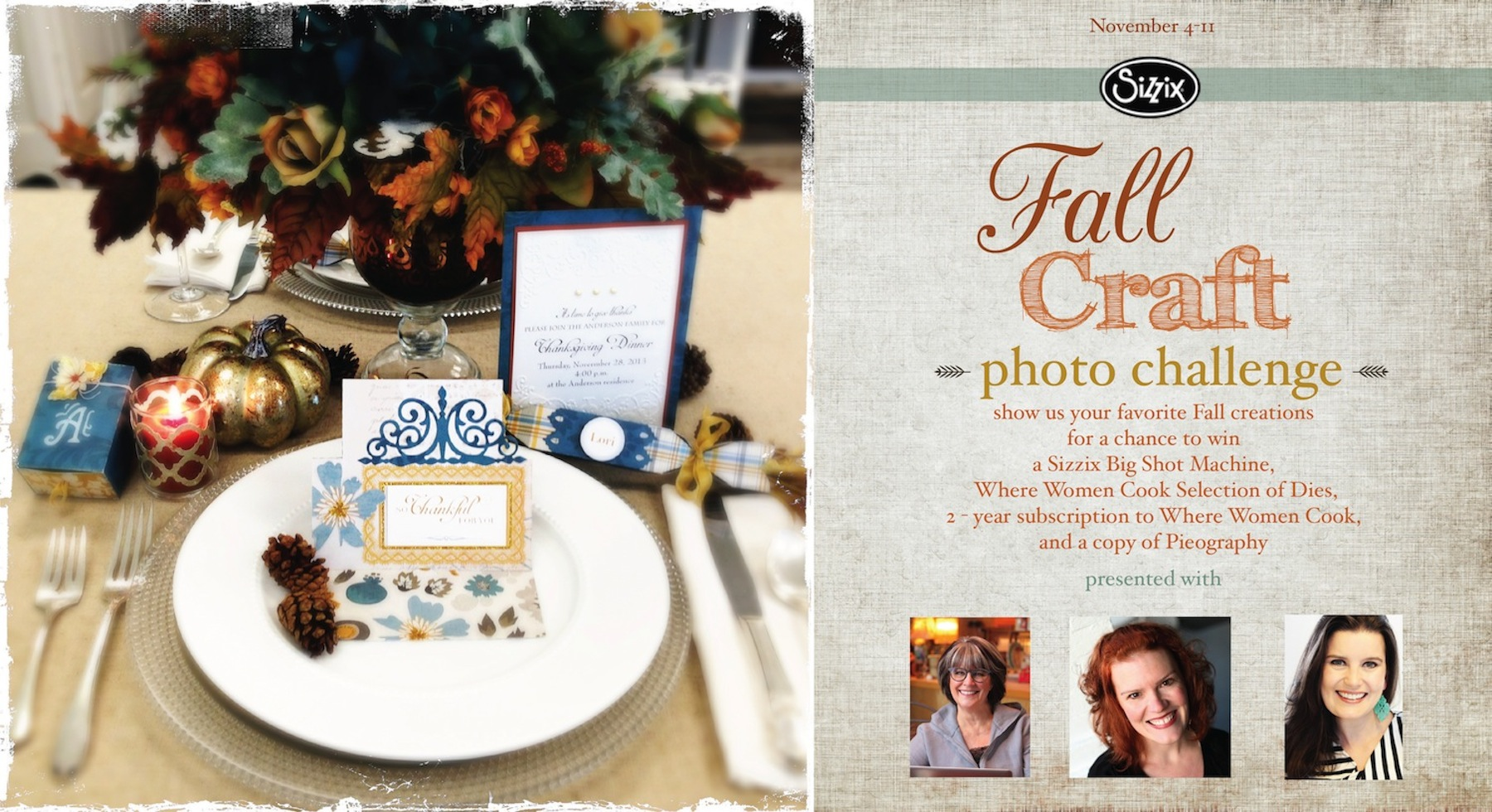 Fall Craft Photo Challenge