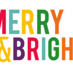 Merry and Bright Computer Wallpaper