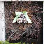 Twig and Pine Cone Wreath