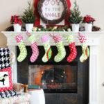Traditional Christmas Mantel (Holiday Idea Exchange!)