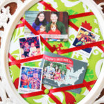 DIY Tufted Memo Board (Holiday Card and Photo Display)
