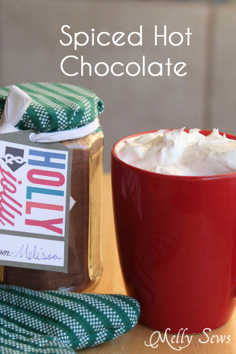 Spiced Hot Chocolate Recipe and Gift Idea