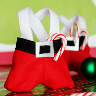 Santa Pants Treat Bags