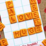 Edible Scrabble Valentines + A Pinterest Celebration!