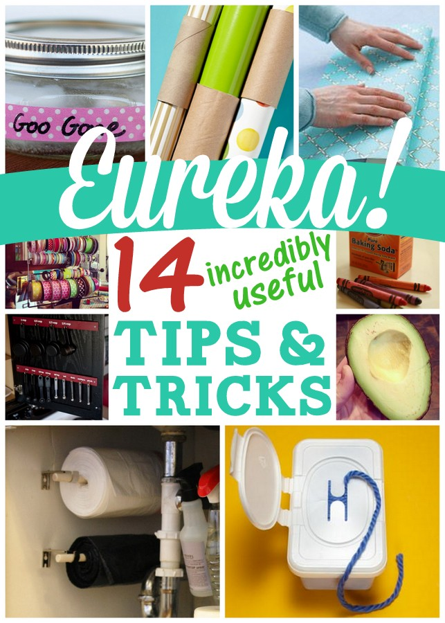 14 incredibly useful household tips. So many fantastic ideas!