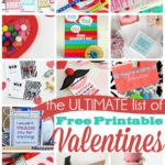 25 Fabulous & Free Printable Valentines