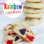 Rainbow Surprise Sugar Cookies