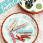 Polka-Dotted Trinket Dishes